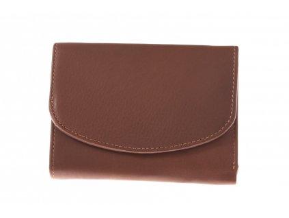 Dámská kožená peněženka kulatá klopa 750032 (3)