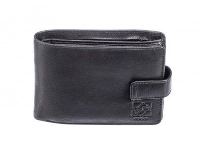 Pánská kožená černá peněženka 742212 1