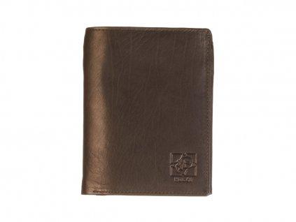Pánská kožená černá peněženka 739212 1
