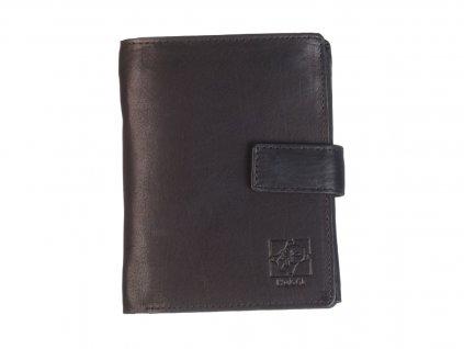 Pánská kožená černá peněženka 739112 1