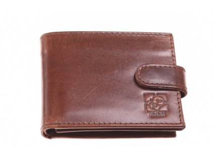 Pánská kožená hnědá peněženka 7444 Z 42 1