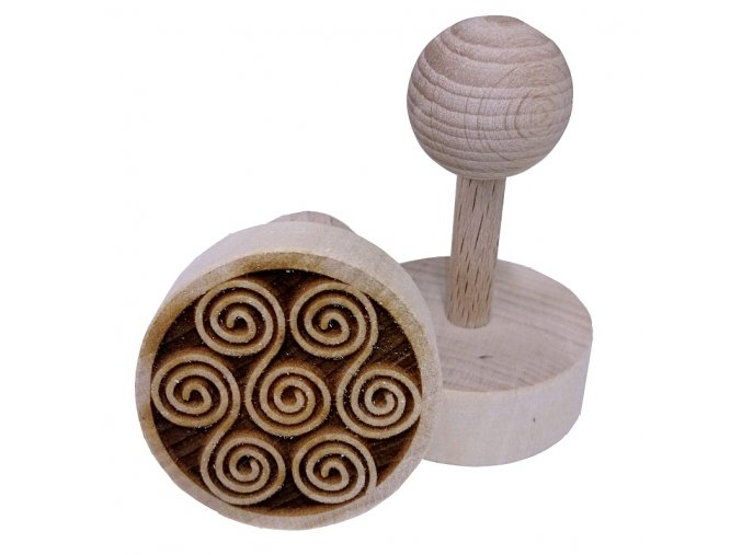 Dřevěné razítko na sušenky Krucánky