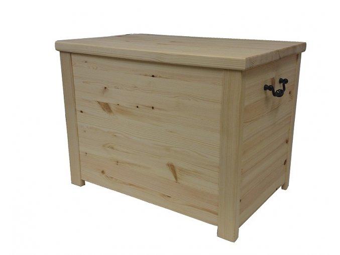 Dřevěná truhla 60 x 40 x 45 cm