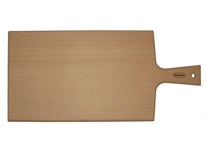 prkno bukove s ruckou 38 x 18 cm