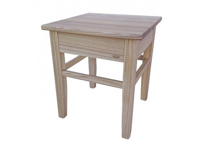 Dřevěné štokrle s úložným prostorem