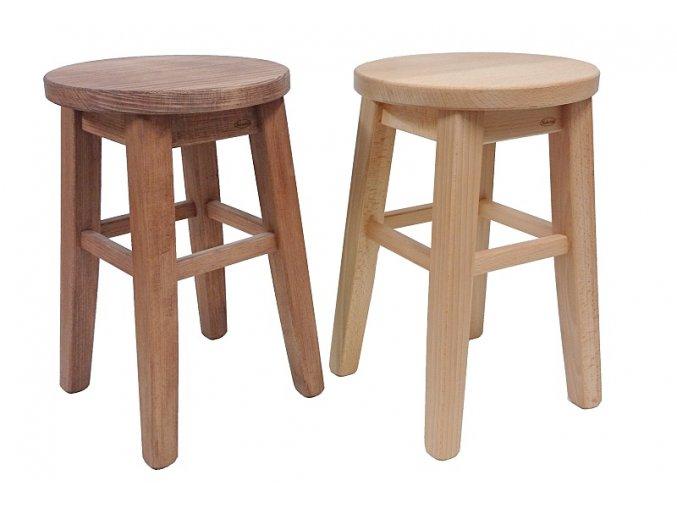 Stolička s kulatým sedákem Kučerňák