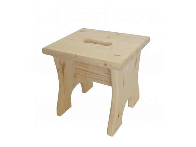 Dřevěná stolička