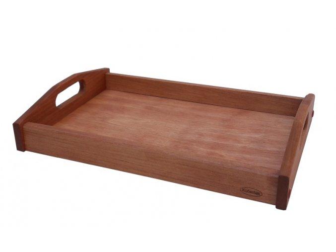 Podnos servírovací dřevěný mini 37,5 x 25 x 6,5 cm olše