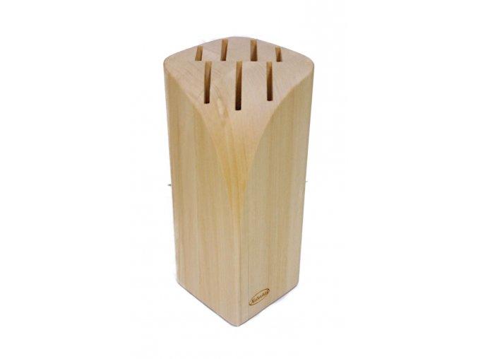 Blok na nože 06 pro 7 nožů  přírodní