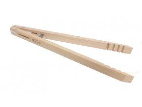 Grilovací kleště dřevěné 28 cm