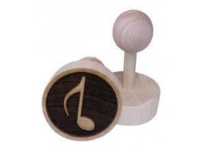 Dřevěné razítko na sušenky - nota