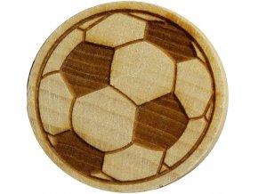 Dřevěné razítko na sušenky - kopačák