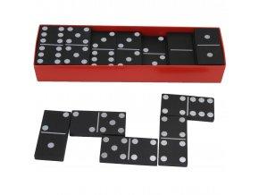 Domino klasik černé