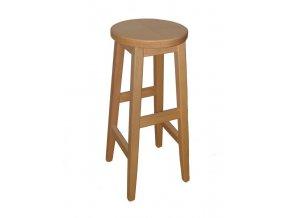 Barová stolička dřevěná
