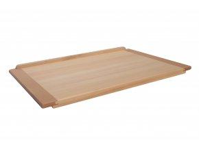 Kuchyňský vál na těsto dřevěný 65 x 45 cm