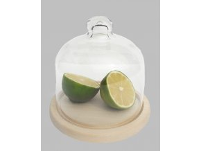 Skleněná dóza na citróny