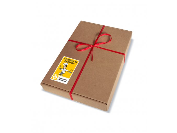Dárková krabička (1-2 zástěry)
