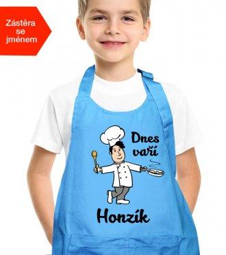 Dětská zástěra na vaření