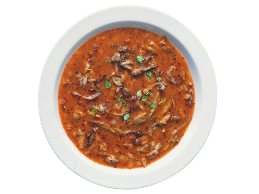hlívová polévka