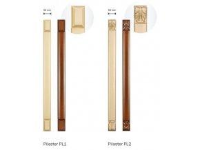 Pilaster PL1 a PL2