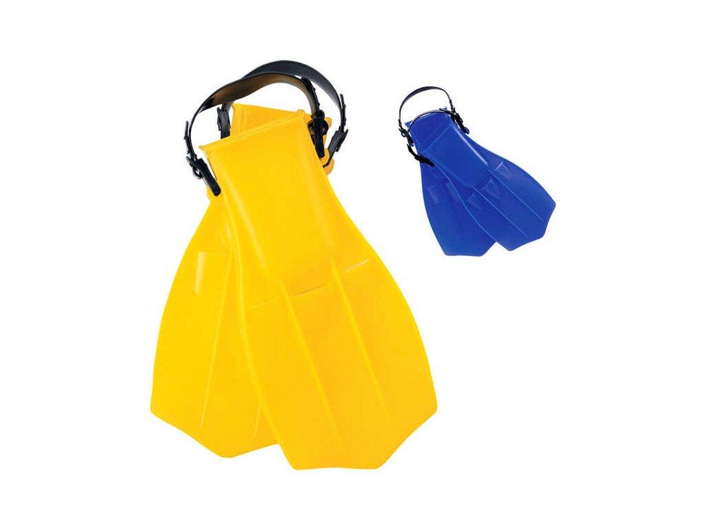 BESTWAY Ploutve potápěčské do vody vel. EU 38-41 2 barvy plast