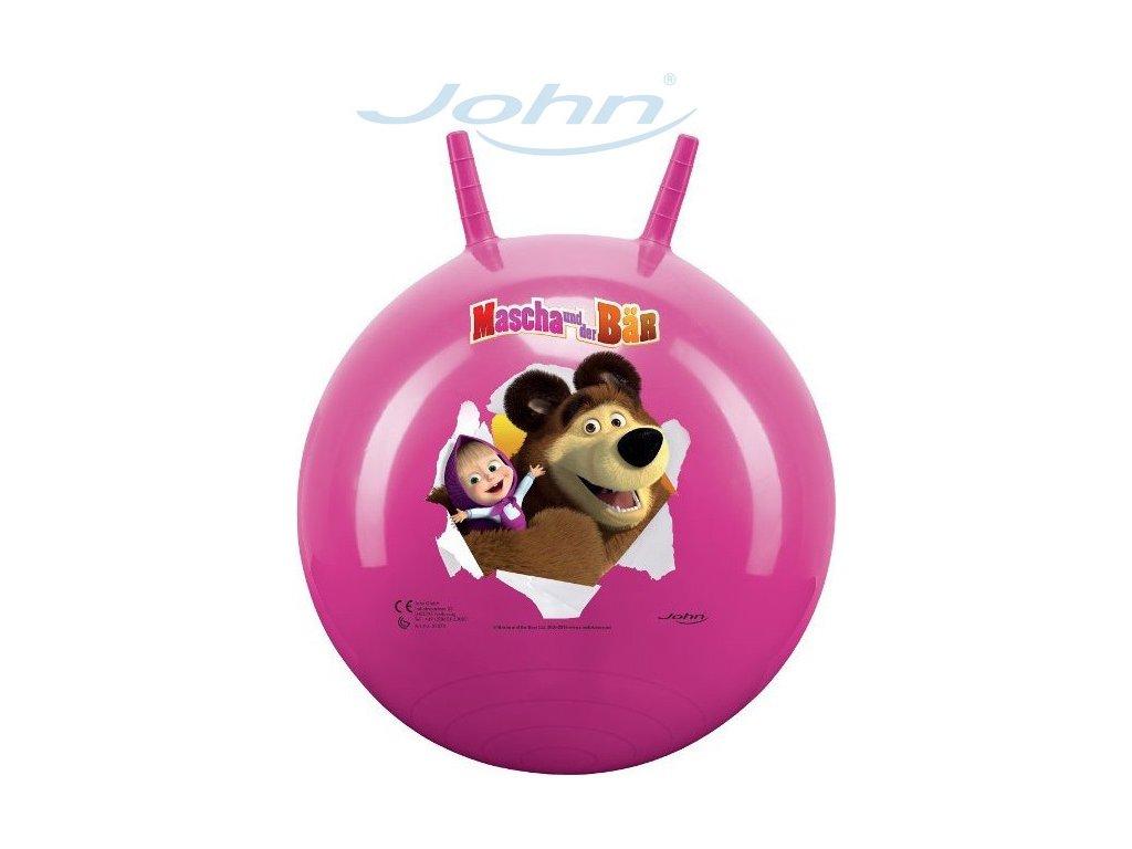 JOHN Hopsadlo Máša a medvěd (skákací míč)