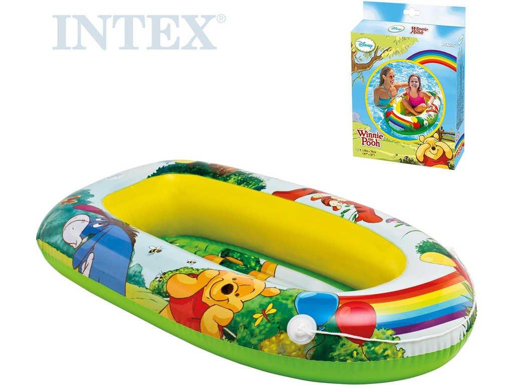 INTEX Člun Disney Medvídek Pů 119x79cm nafukovací do vody 58394