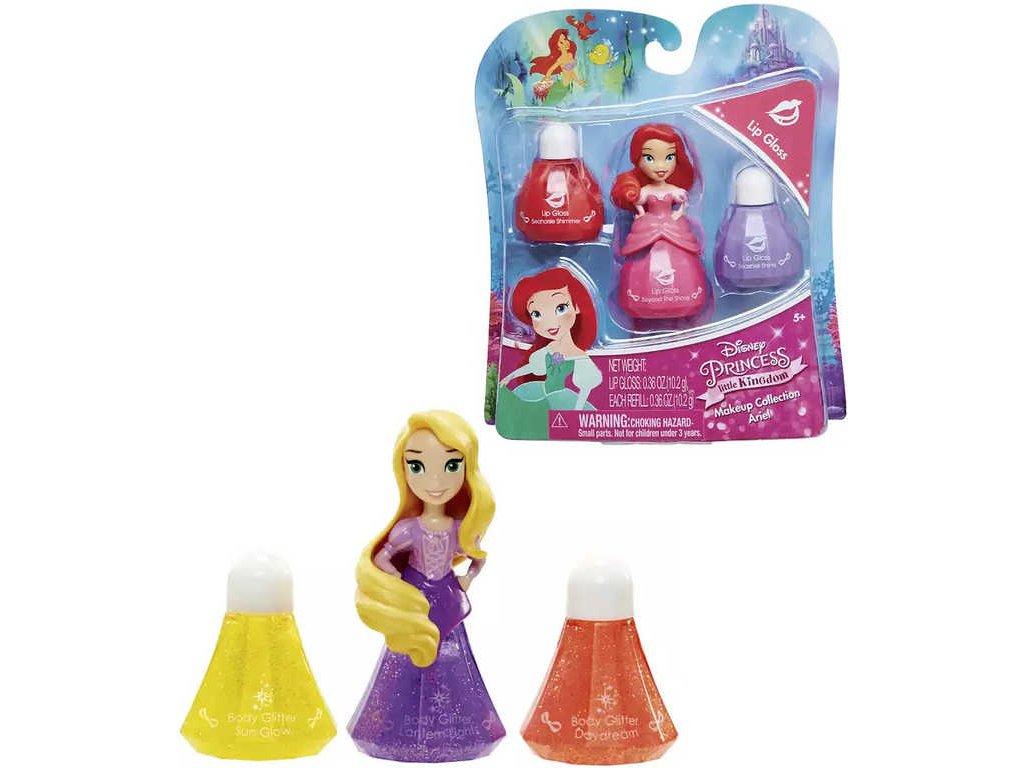 Little Kingdom Make Up pro princezny 3 druhy lesk/lak/řasenka set 3ks na kartě