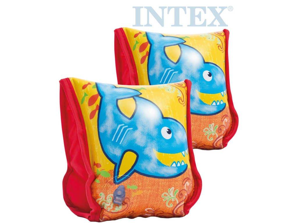 INTEX Dětské nafukovací rukávky LÁTKOVÉ 23x18cm do vody 56659