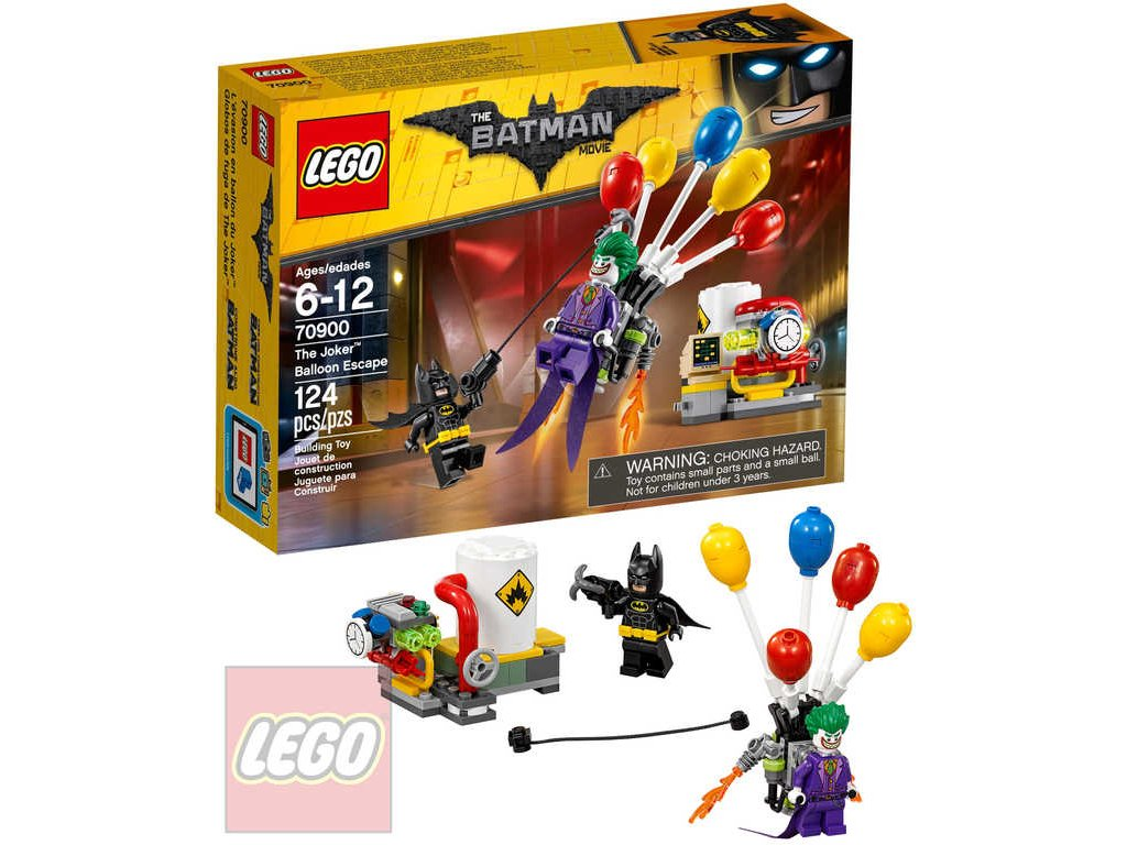 LEGO BATMAN Jokerův útěk v balónu 70900 STAVEBNICE