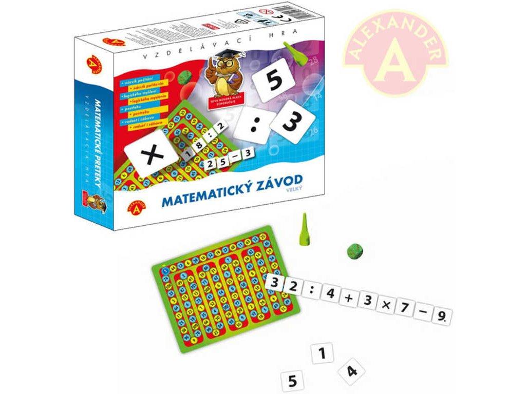 ALEXANDER Hra vzdělávací matematický závod *SPOLEČENSKÉ HRY*