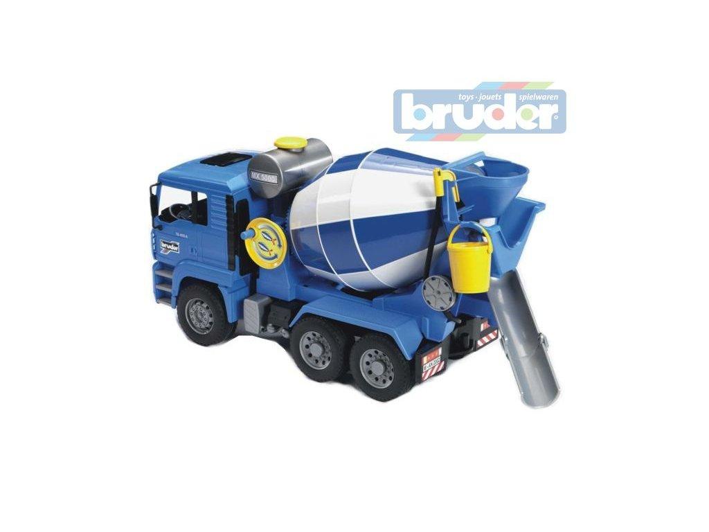 BRUDER 02744 (2744) Nákladní auto MAN - domíchávač