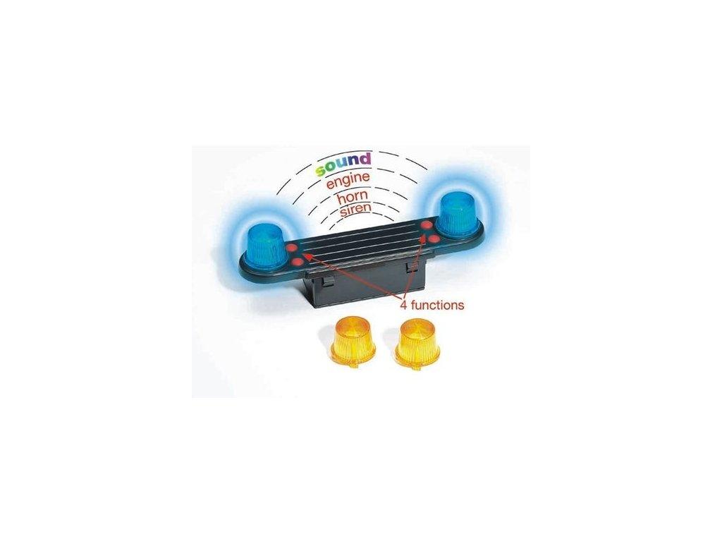 BRUDER 02801 (2801) Maják se světlem a sirénou pro nákladní auta