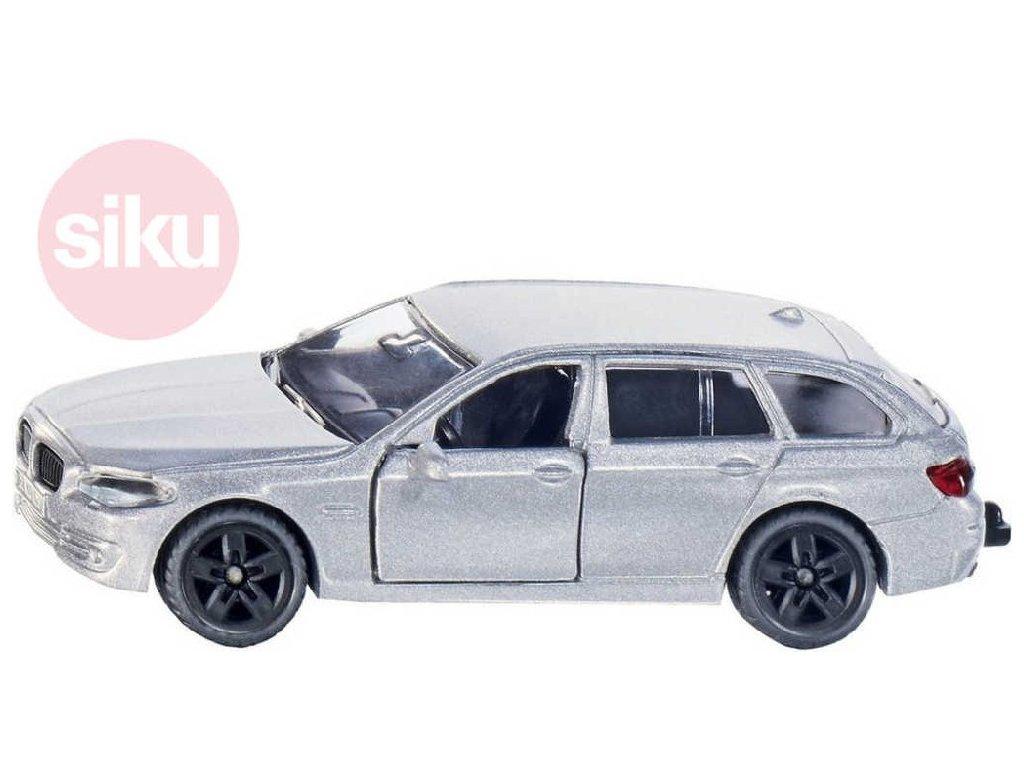 SIKU Auto BMW 520i Touring stříbrný model 1459 otevírací dveře kov