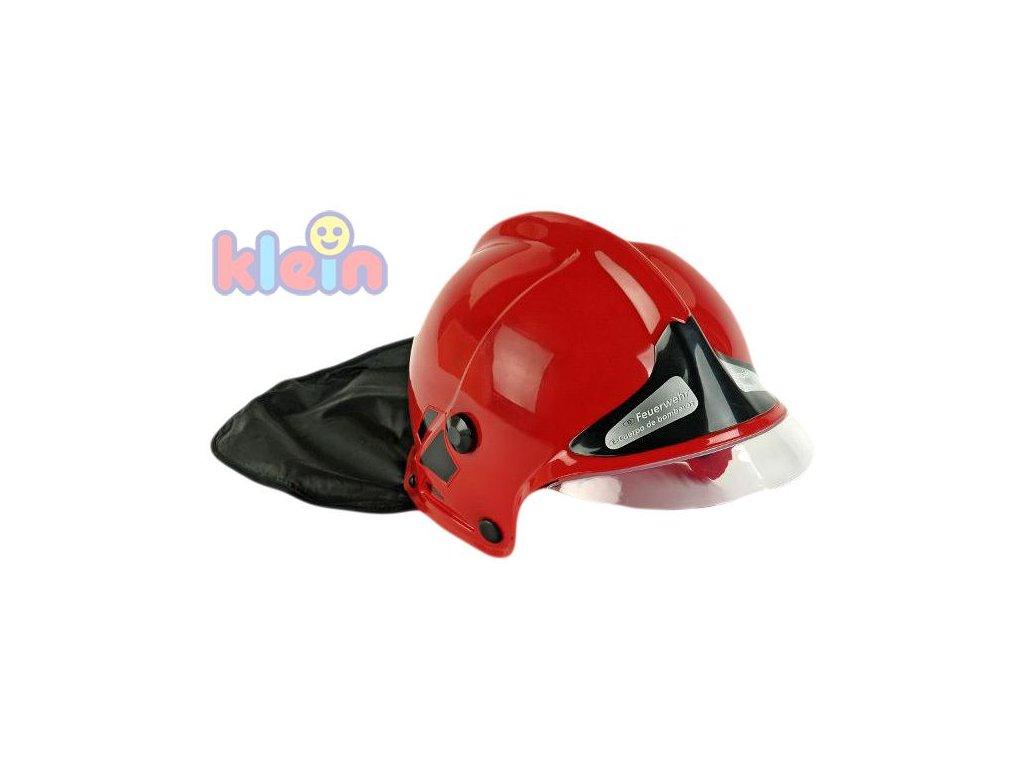 KLEIN Helma hasičská červená POŽÁRNÍCI