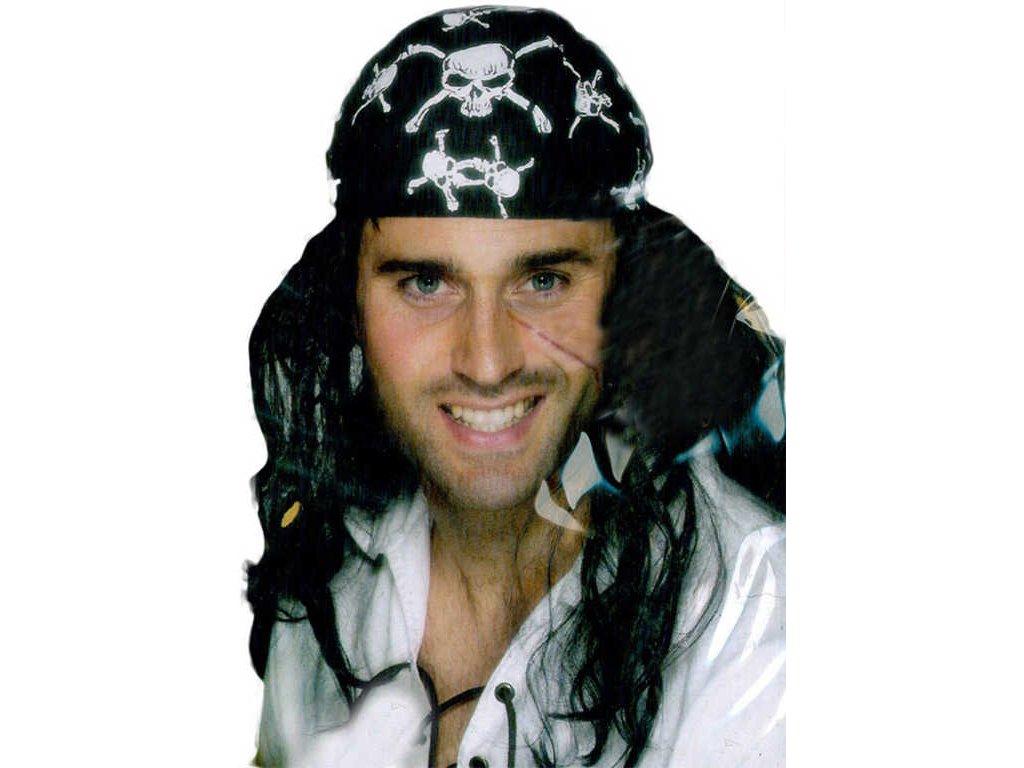 KARNEVAL Šátek pirátský pro dospělé KARNEVALOVÝ DOPLNĚK