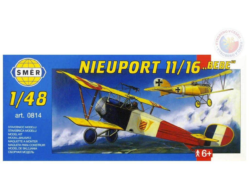 SMĚR Model letadlo Nieuport 11/16 1:48 (stavebnice letadla)