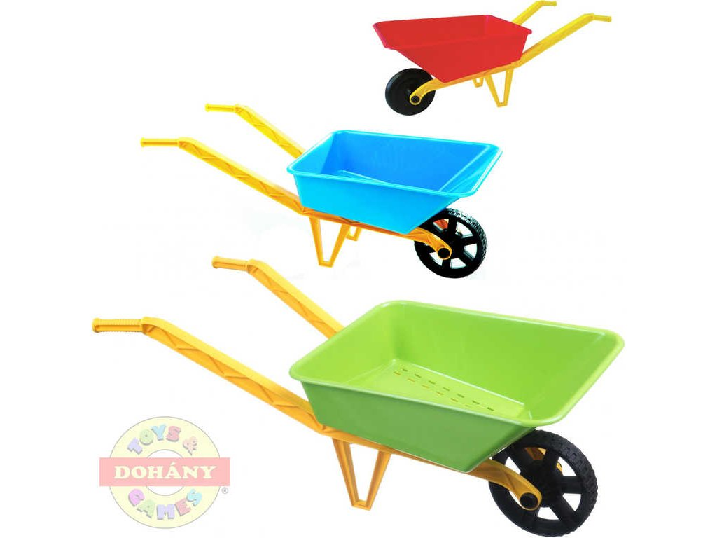 MAD Dětské kolečko barevné (kolečka) plastové 3 barvy