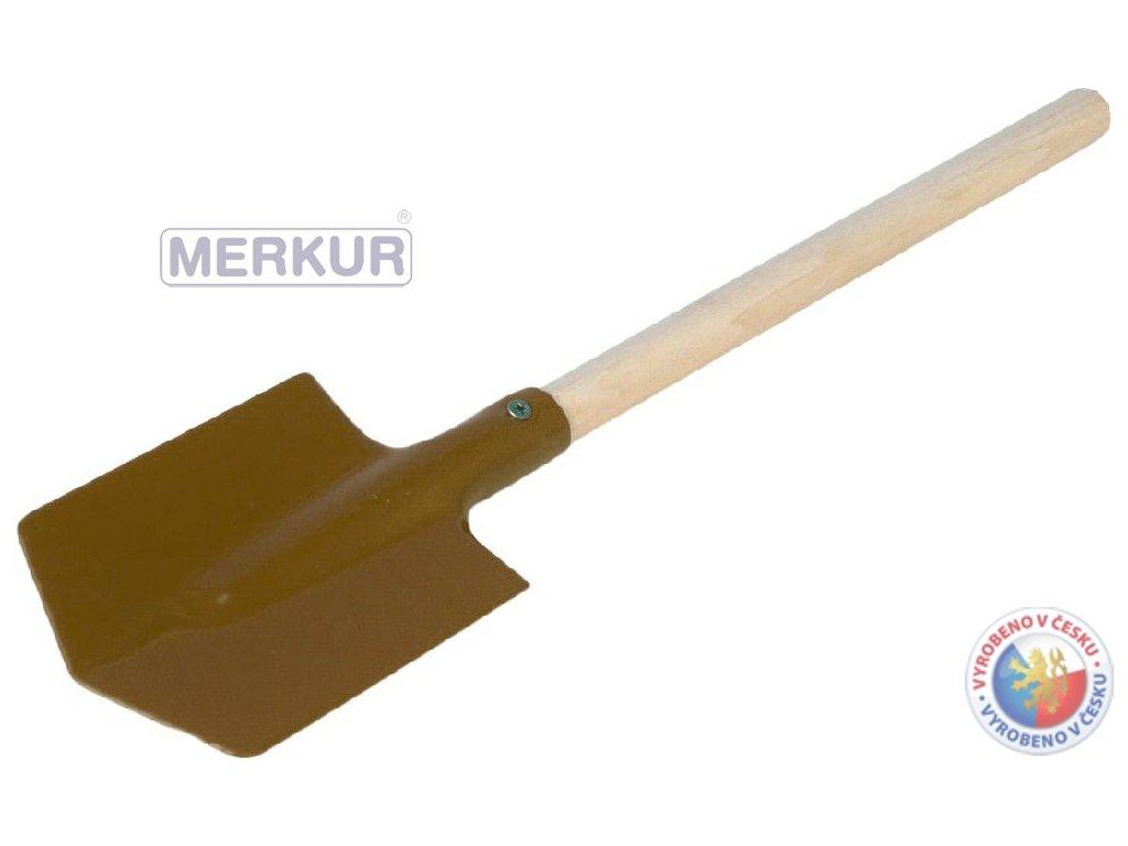 MERKUR Rýček kov/dřevo MALÝ na písek * DŘEVĚNÉ HRAČKY *