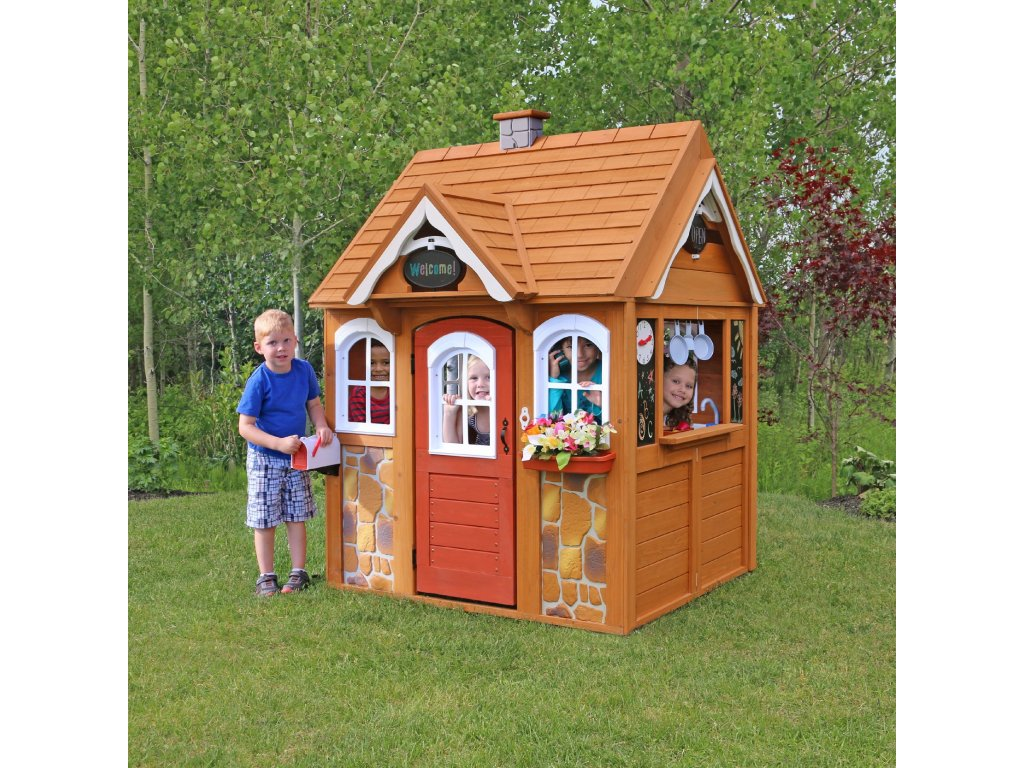 Stoneycreek Cedar Playhouse FRONT
