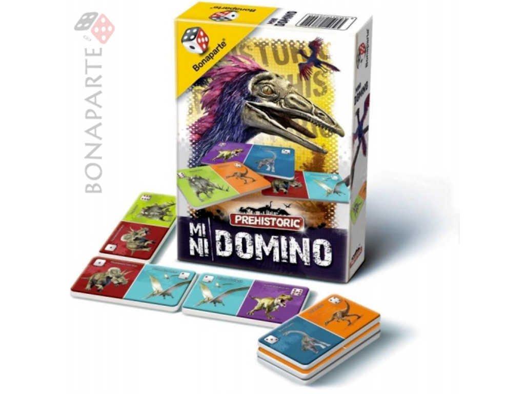 BONAPARTE Domino mini Prehistoric Dino *SPOLEČENSKÉ HRY*