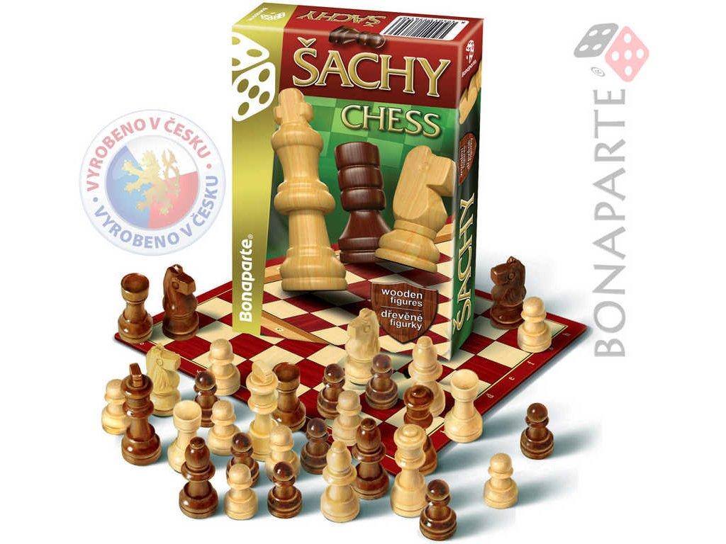 BONAPARTE Hra cestovní Šachy *SPOLEČENSKÉ HRY*