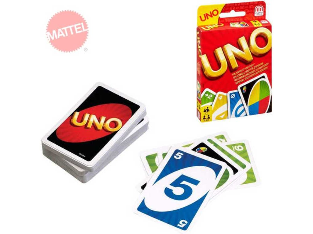MATTEL Karty UNO karetní hra