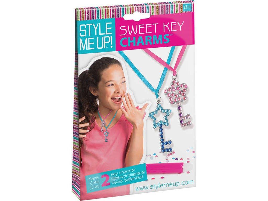 SMU Návrhářské portfolio přívěsky klíče pro holčičky Style Me Up sada