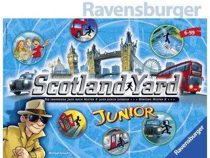 RAVENSBURGER Hra Scotland Yard junior *SPOLEČENSKÉ HRY*