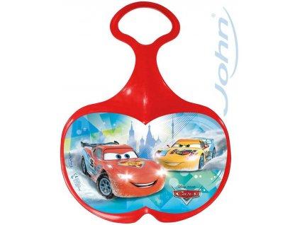 JOHN Kluzák na sníh s obrázkem Disney Cars (Auta) červený pro kluky