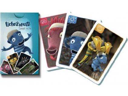 BONAPARTE Hra karetní Černý Petr Lichožrouti papírová krabička