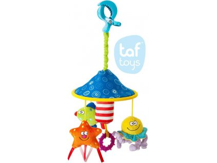 TAF TOYS Baby kolotoč na kočárek s klipem pro miminko