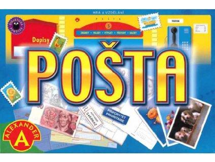ALEXANDER Hra Pošta