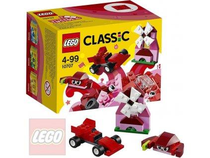 LEGO CLASSIC Červený kreativní box 10707 STAVEBNICE